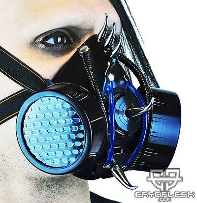 Necro Fiend Cyber Gas Mask DC
