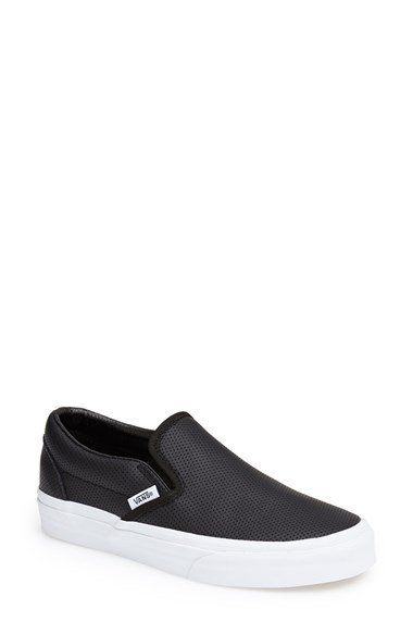 1f730b7c07 Vans  Classic  Perforated Slip-On Sneaker (Women)