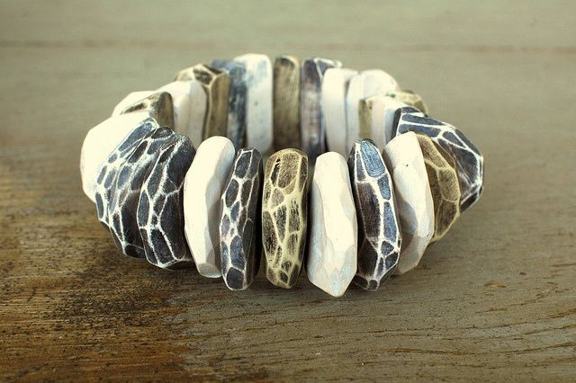 Bracelet by JIBBY AND JUNA | Polymer Clay Planet