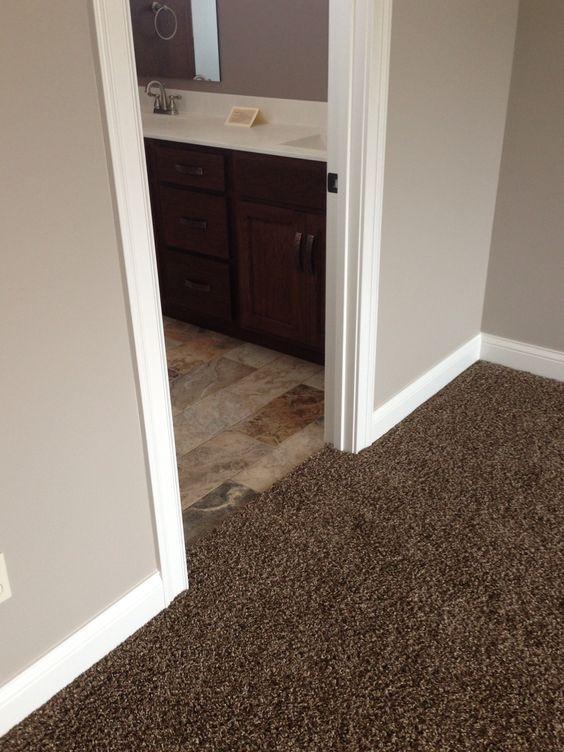 Chocolate Brown Carpet Decorating