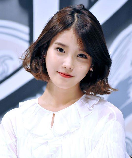 Cute IU srt hairstyle | IU | Pinterest | Srt hairstyle