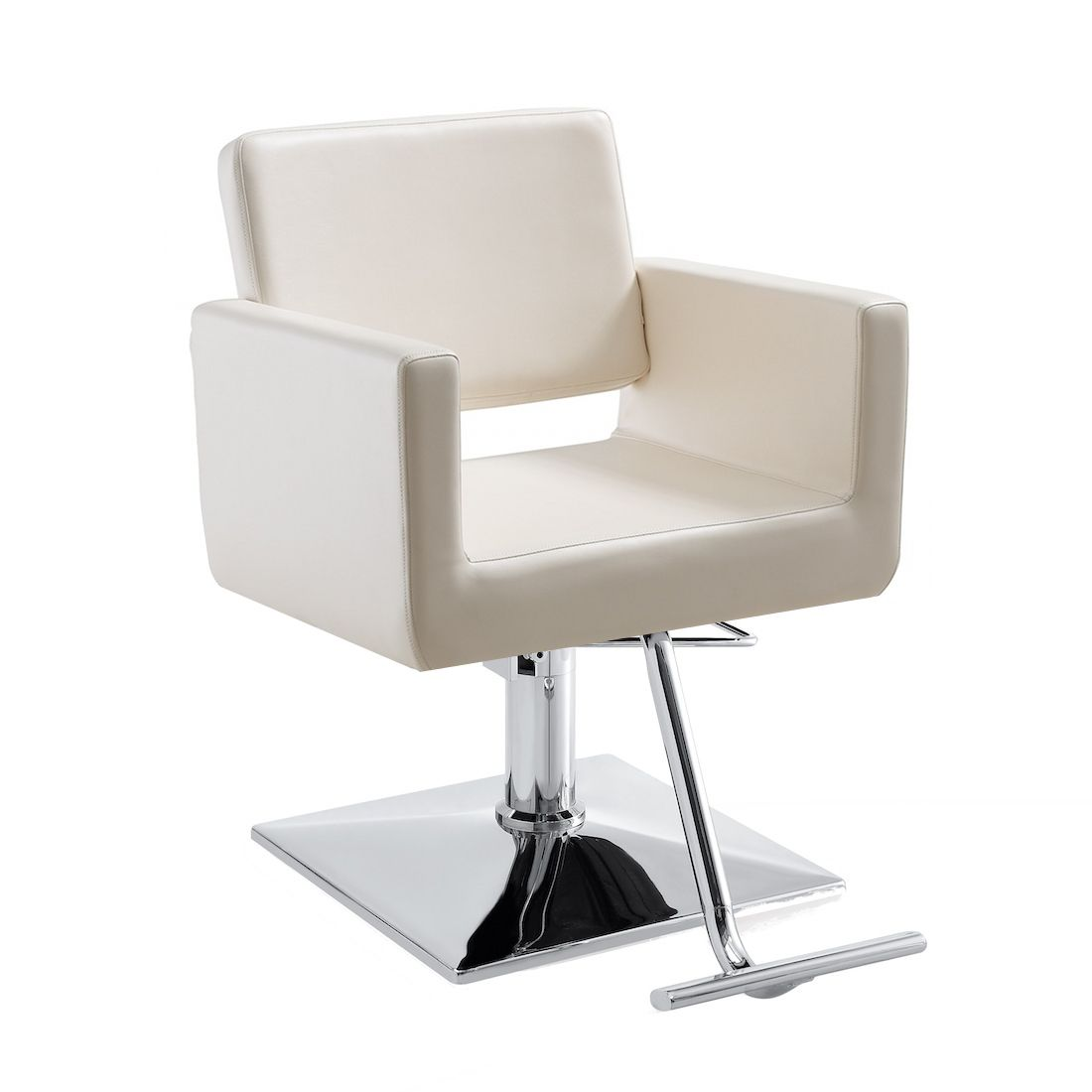 draper white salon chair | salons, styling chairs and modern