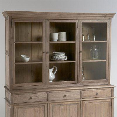 vaisselier 3 portes pin massif lipstick la redoute catalogue meubles d co peinture pinterest. Black Bedroom Furniture Sets. Home Design Ideas