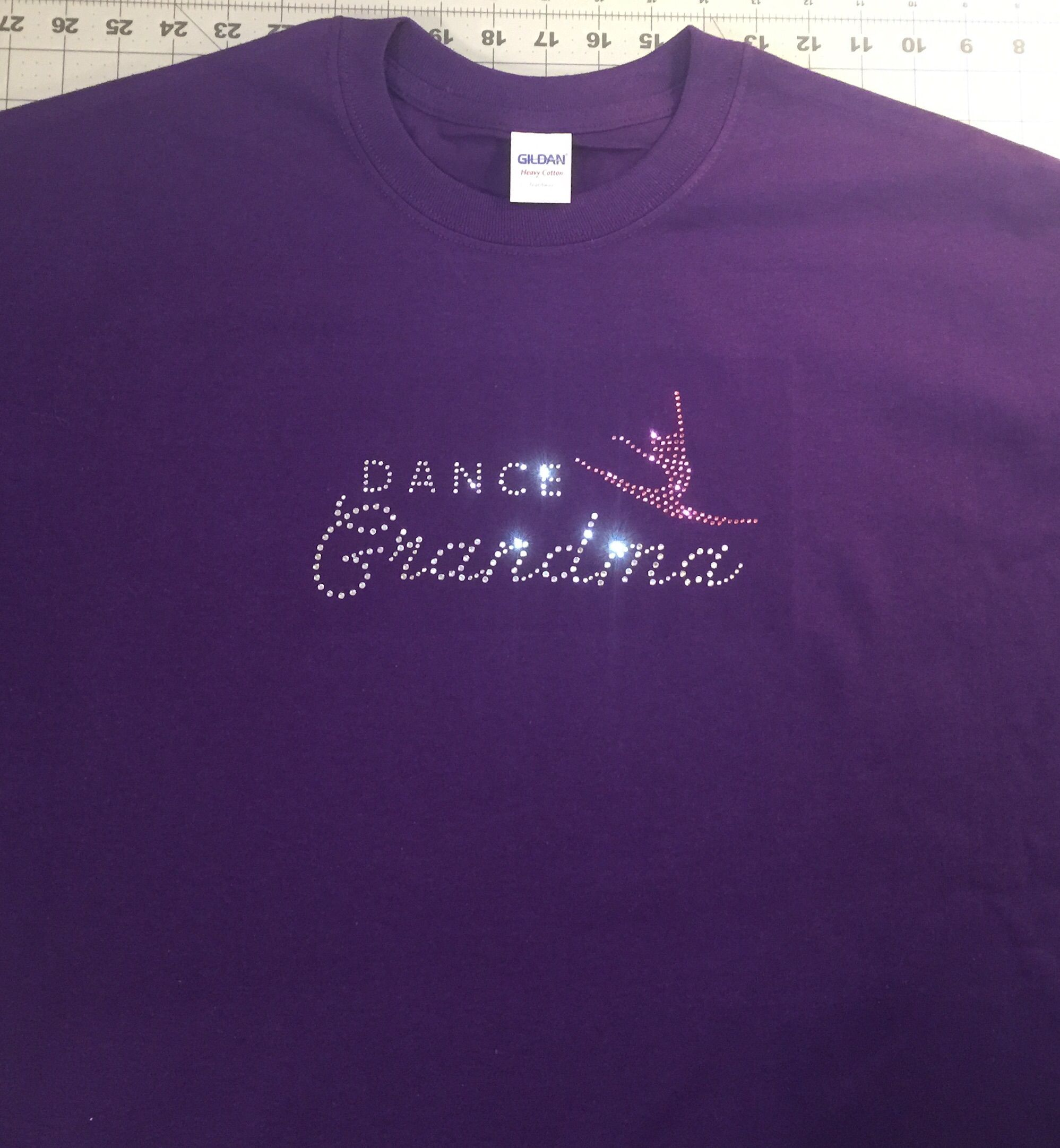 We did this Dance Grandma shirt to satisfy a customer's order.  To order yours click on the direct listing link to Mychristianshirts Etsy Store.  https://www.etsy.com/listing/256397367/dance-grandma-rhinestones-item-pw8875a