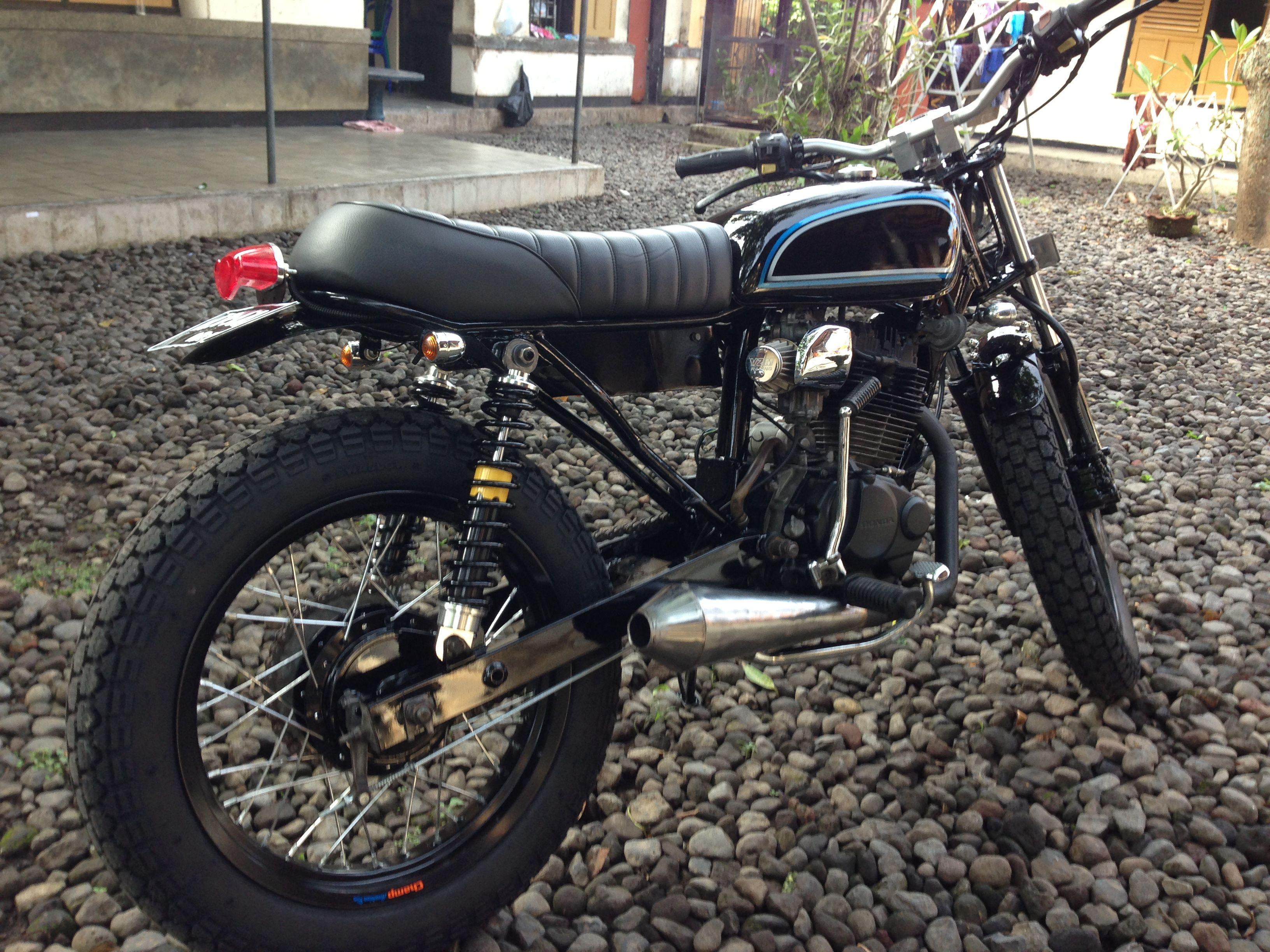 Modifikasi Motor Jap Style Dengan Honda Tiger Modifikasi Motor
