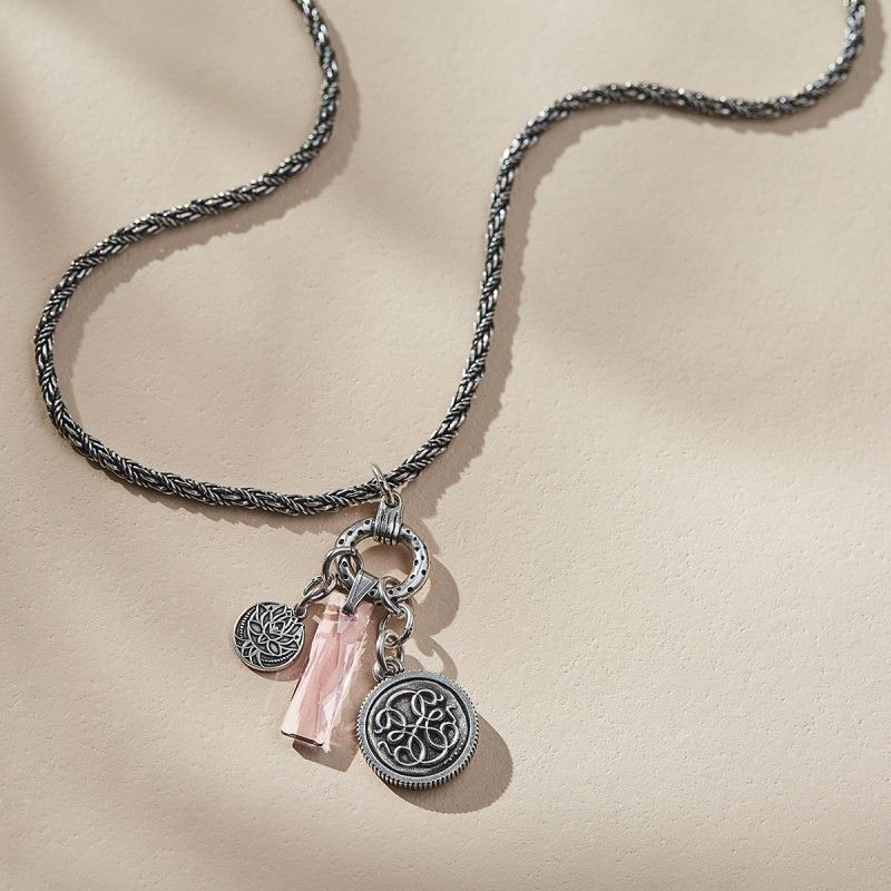 New Beginnings Trio Adjustable Necklace I Want Silver Necklaces