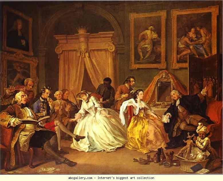 William Hogarth The Countess S Morning Levee Olga S Gallery