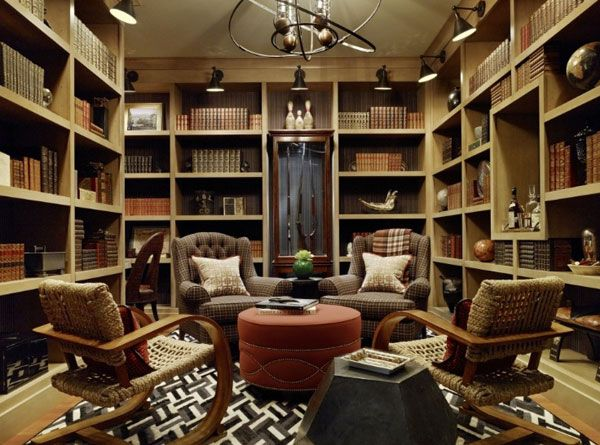 Home Library Decor 40 home library design ideas for a remarkable interior | library
