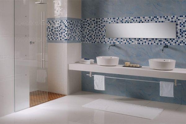 Bagno marmo ~ Bagnoidea rivestimento in gres porcellanato azul macauba