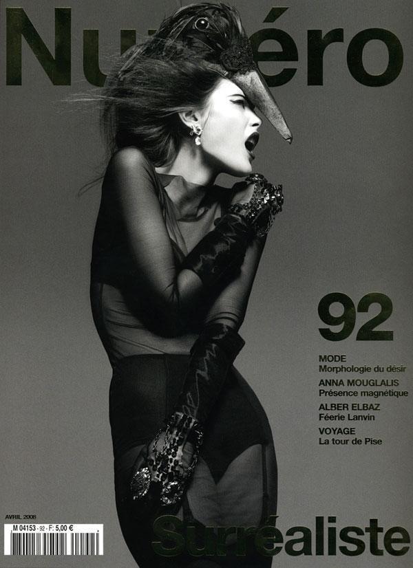 Numero 92 Cover / photographer: Greg Kadel  Repinned by www.fashion.net