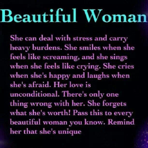 TO ALL THE BEAUTIFUL WOMEN...YOU ROCK!!!!!!!!