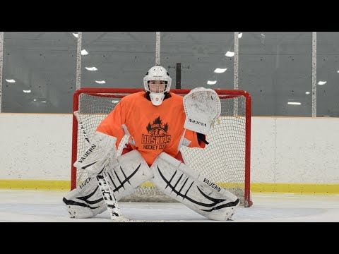 5 Rules Of The Butterfly Ice Hockey Goalie Training Youtube