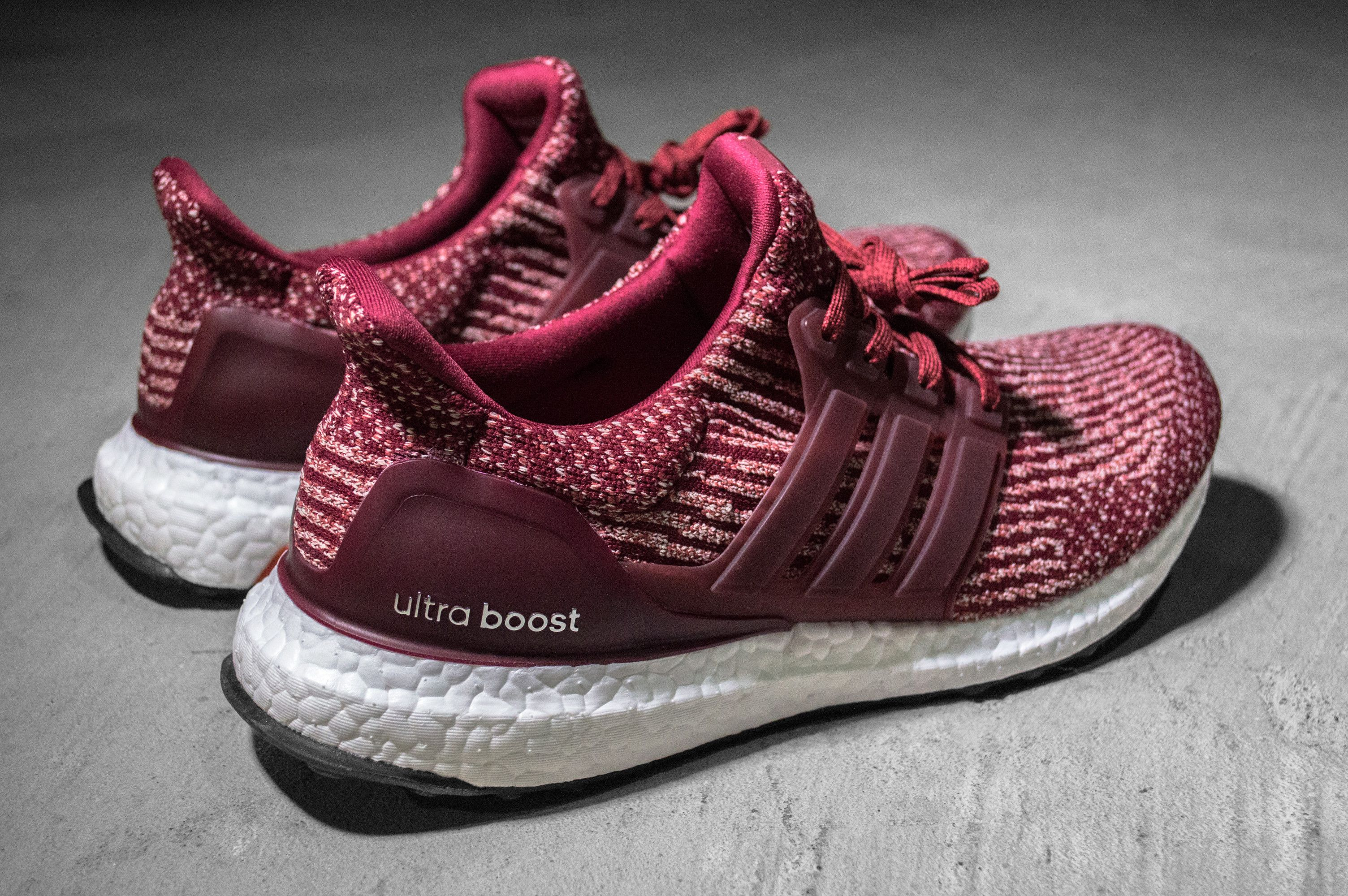 ground beef 3.0 ultraboost 3.0 burgundy