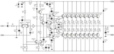 1000 watt amplifier apex 2sc5200 2sa1943 in 2018 hubby project1000 watt amplifier apex 2sc5200 2sa1943 , 1000w power amplifier circuit diagram