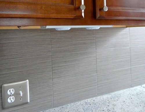 Matte Grey Backsplash Tile Backsplash With Dark Cabinets Backsplash Gray Tile Backsplash