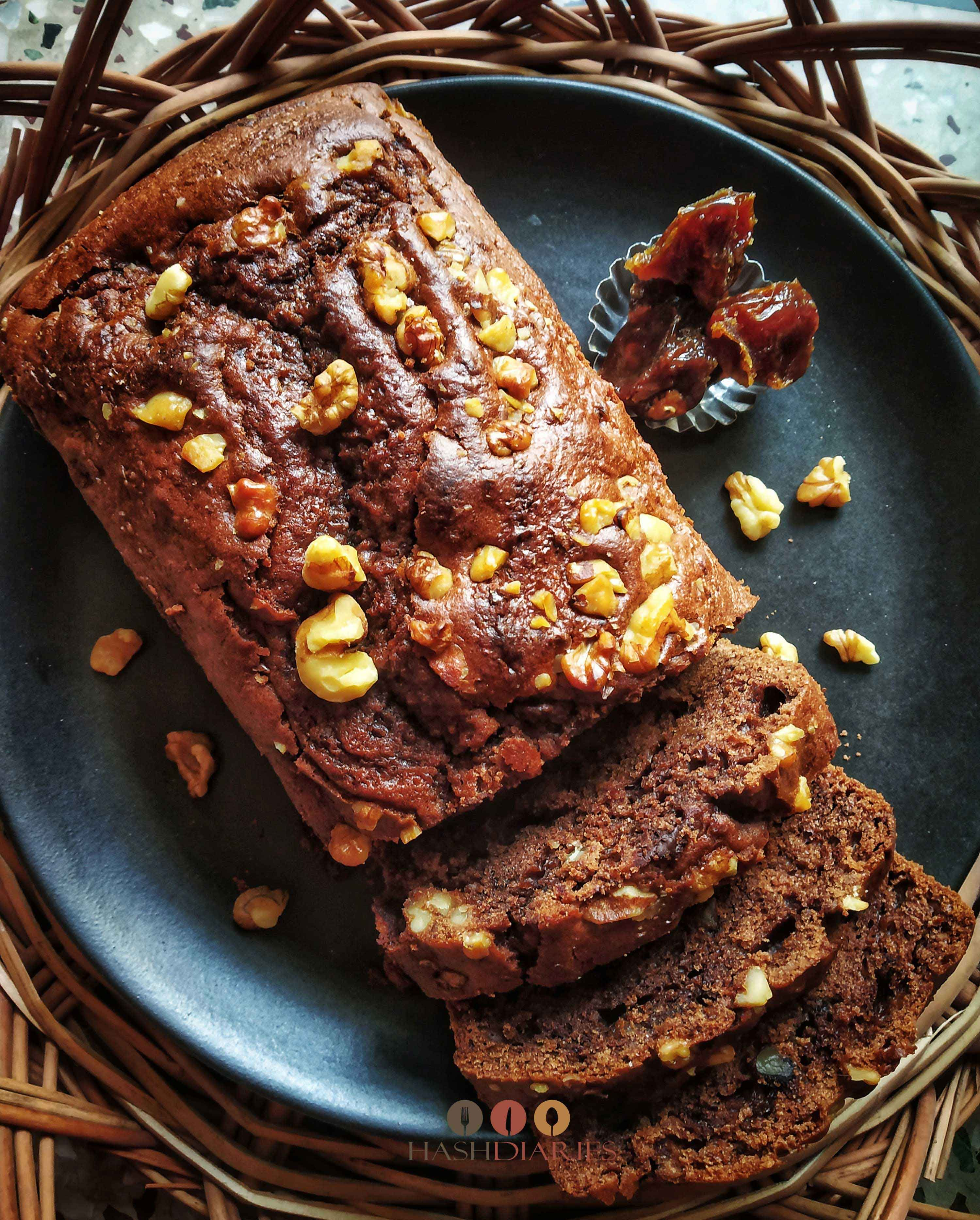 Date walnut chocolate cake recipe walnut cake cake