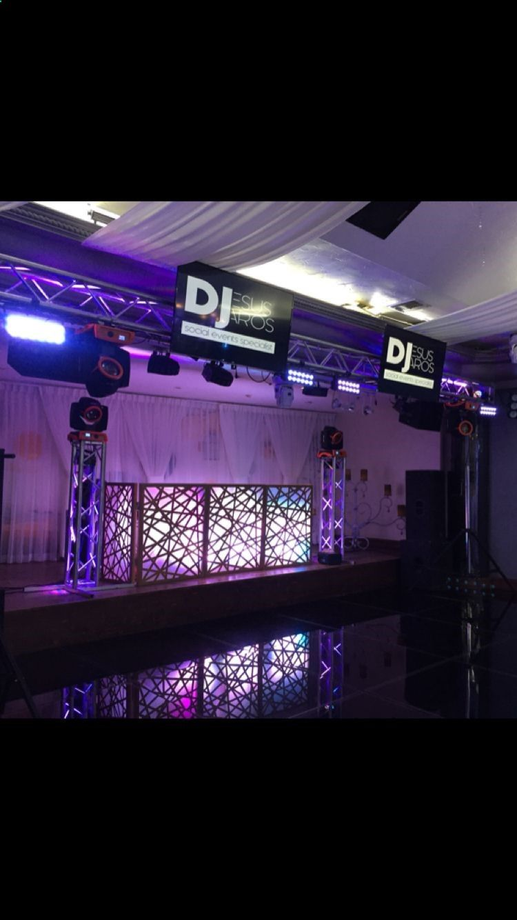 Dj Setup Wedding Dj Setup Wedding Dj Bridal Show Booths