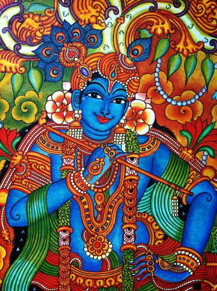Kerala mural at its best art projects pinterest for Mural kerala