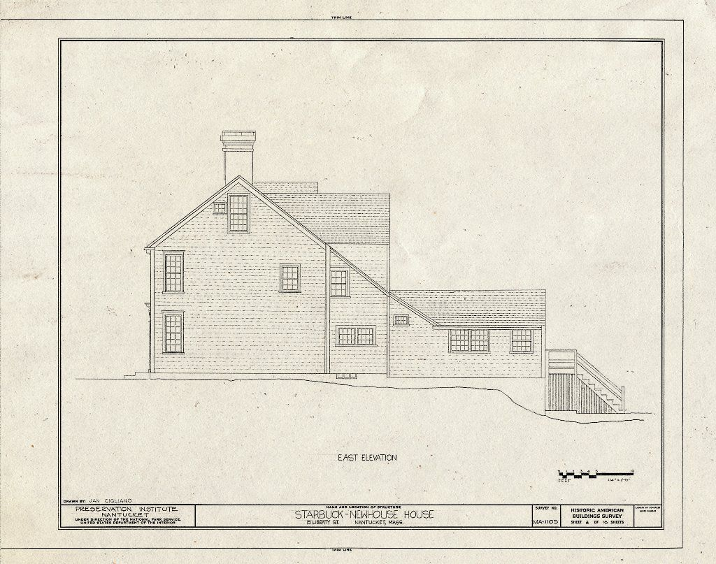 <p>Starbuck-Newhouse House, 15 Liberty Street, Nantucket, Nantucket County, MA</p>