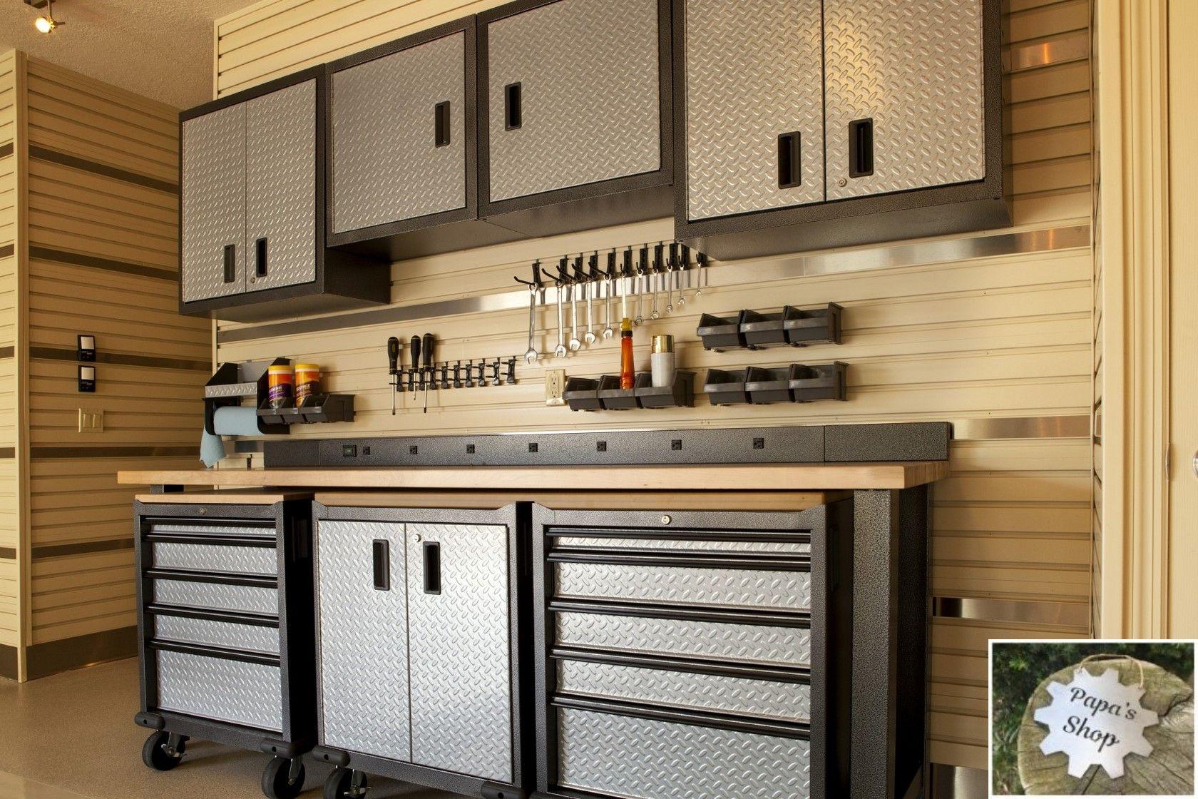 How To Create Your Own Garage Workshop Garage Organization Tips
