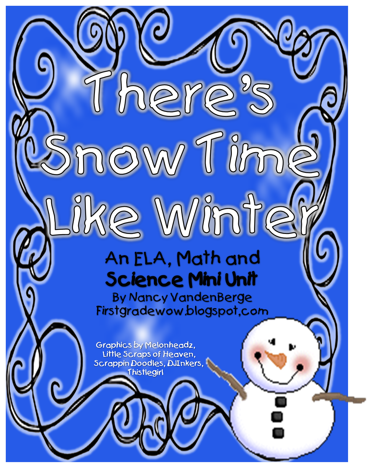 Free There S Snow Time Like Winter Tons Of Math And