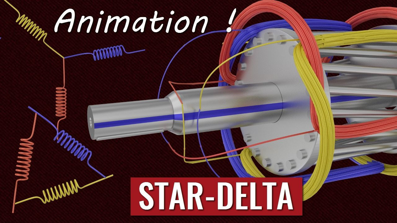 Understanding STAR-DELTA Starter !