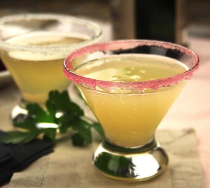 Soupe de champagne - Envie de bien manger #recette #soupe #froide #champagne