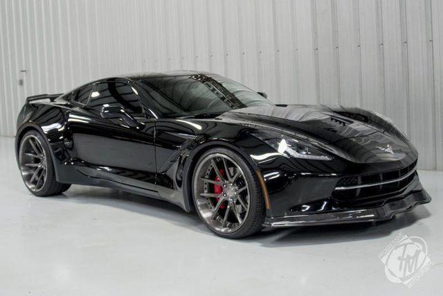Blacked Out Chevy Corvette Corvette Corvette Stingray Corvette