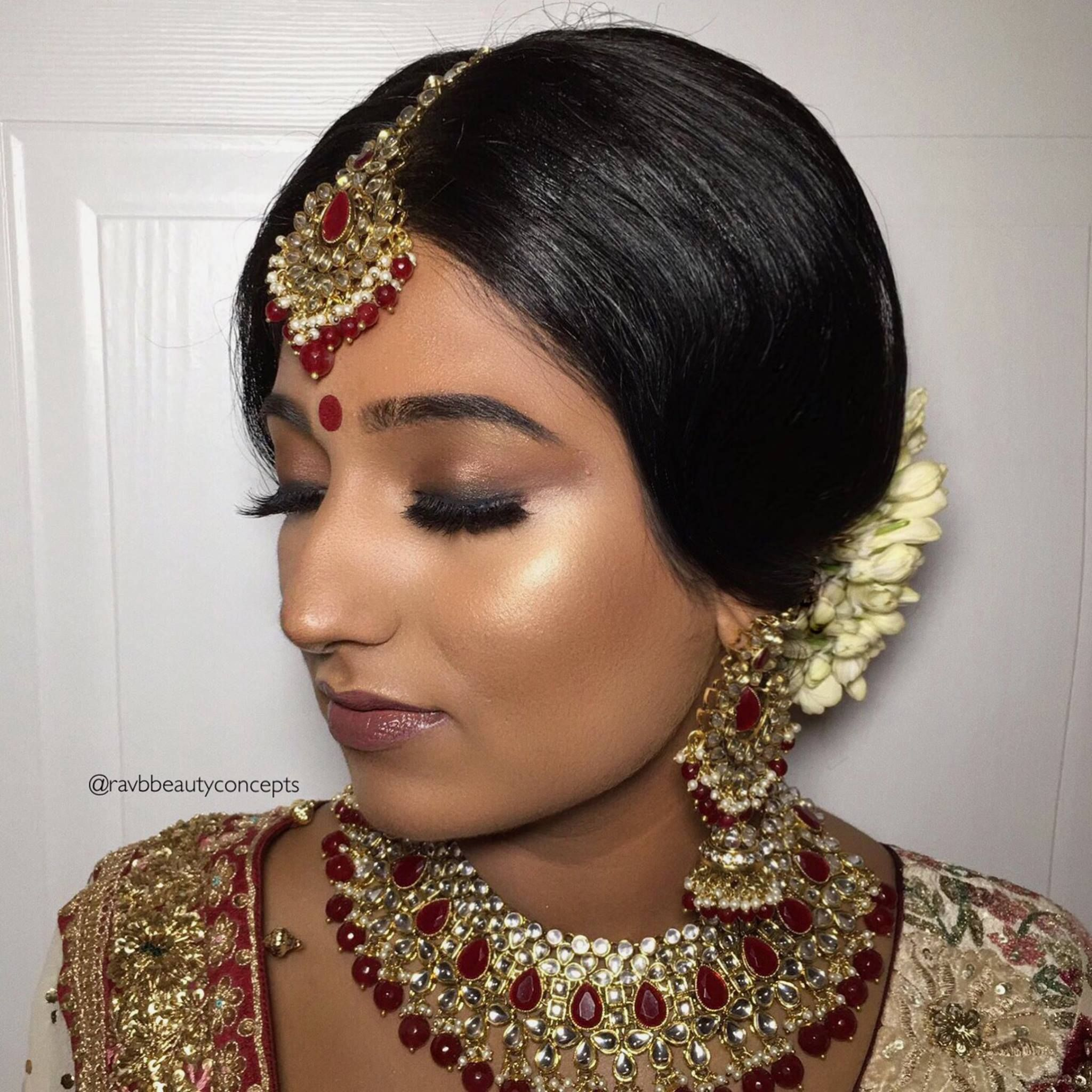 Wedding Hairstyle In Tamil: Indian Bridal Makeup, Indian Bridal Hair, Bridal Makeup