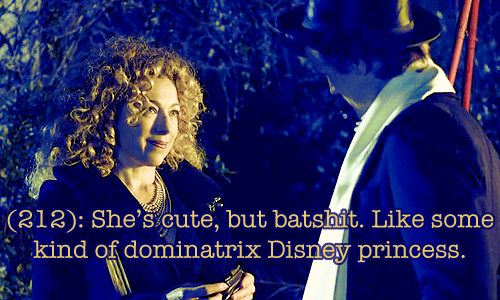 The Most Accurate Description Of River Song I've Ever