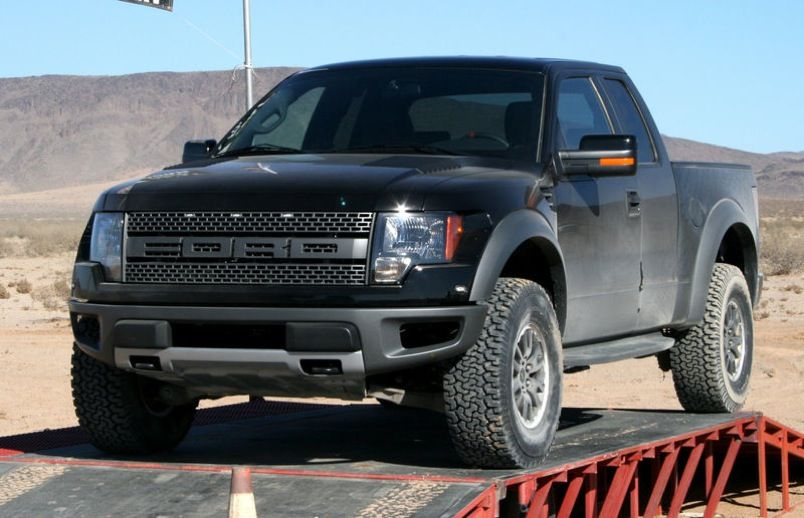 Raptor... love the grill on the new ones!