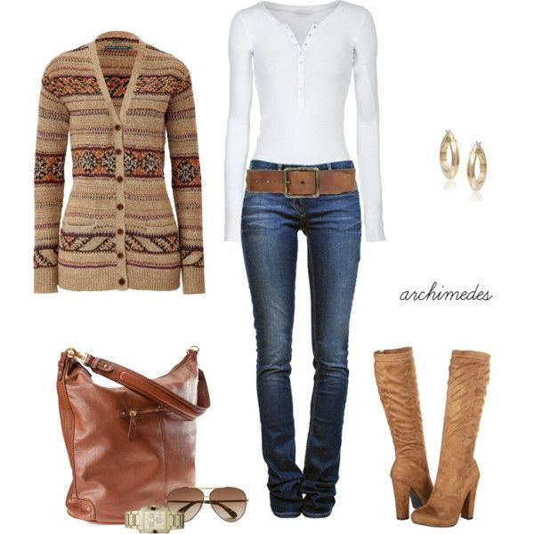 cute fall outfit, With some cowboy boots instead