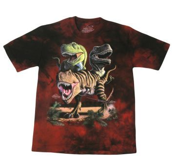 An Awesome Kids Rex Collage Tee for Kids!  #dinosaurs #kids #clothes #shirts #tshirts #toys
