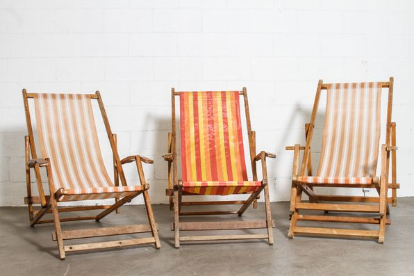 Vintage Folding Beach Chairs: Amsterdam Modern | Home ...