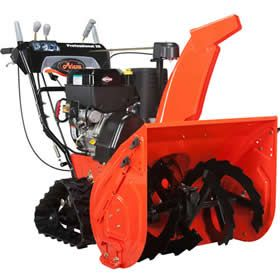 Ariens 926042 Professional Track St28dlet 28 420cc Two Stage Snow Blower Snow Blower Snow Removal Services Snow Blowers