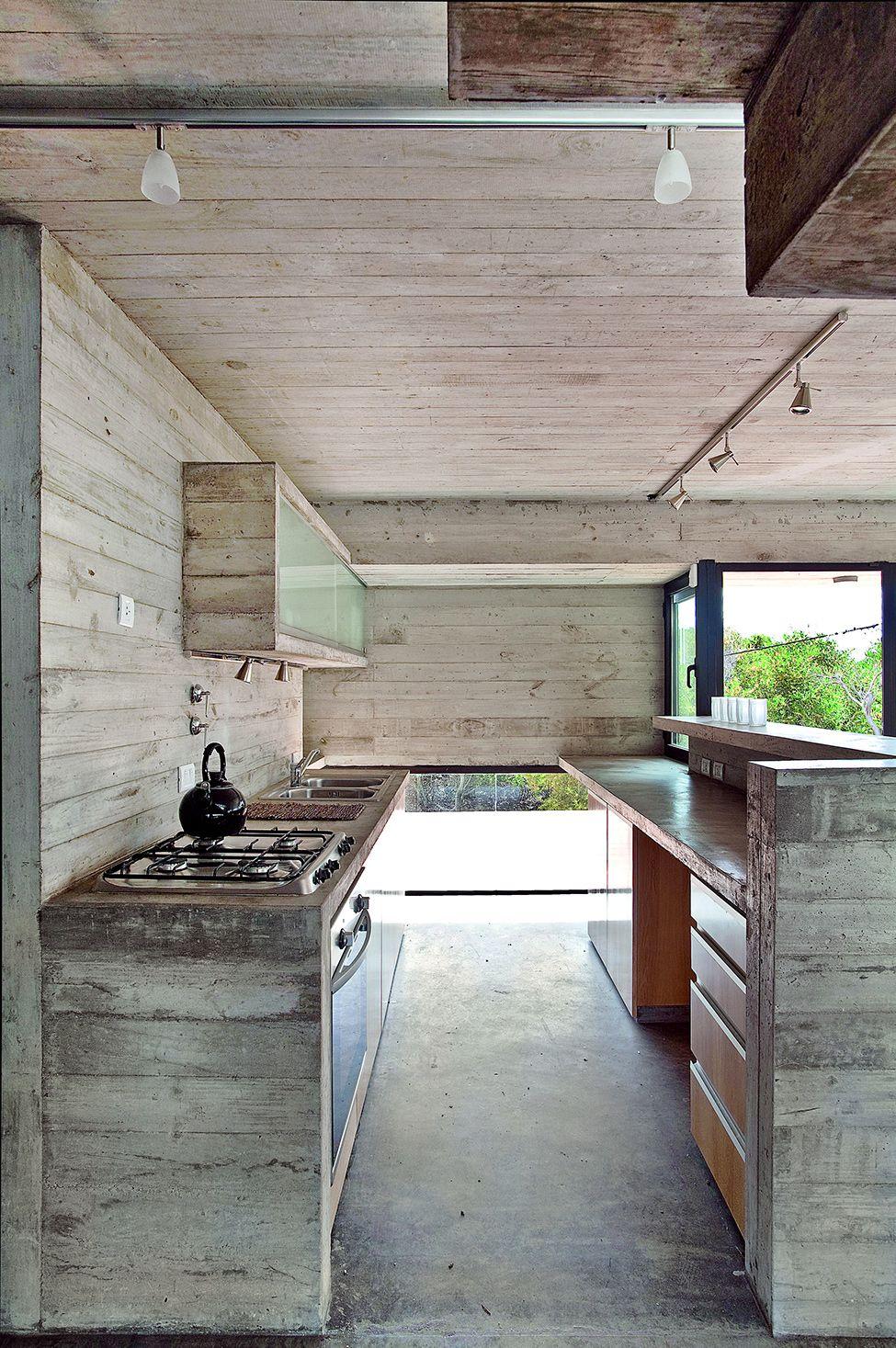 wood and beton