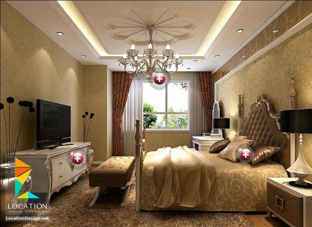 غرف نوم حديثه من اجمل ديكورات غرف النوم الرئيسية لوكشين ديزين نت House Interior Design Bedroom Interior Design Classic Bedroom Design
