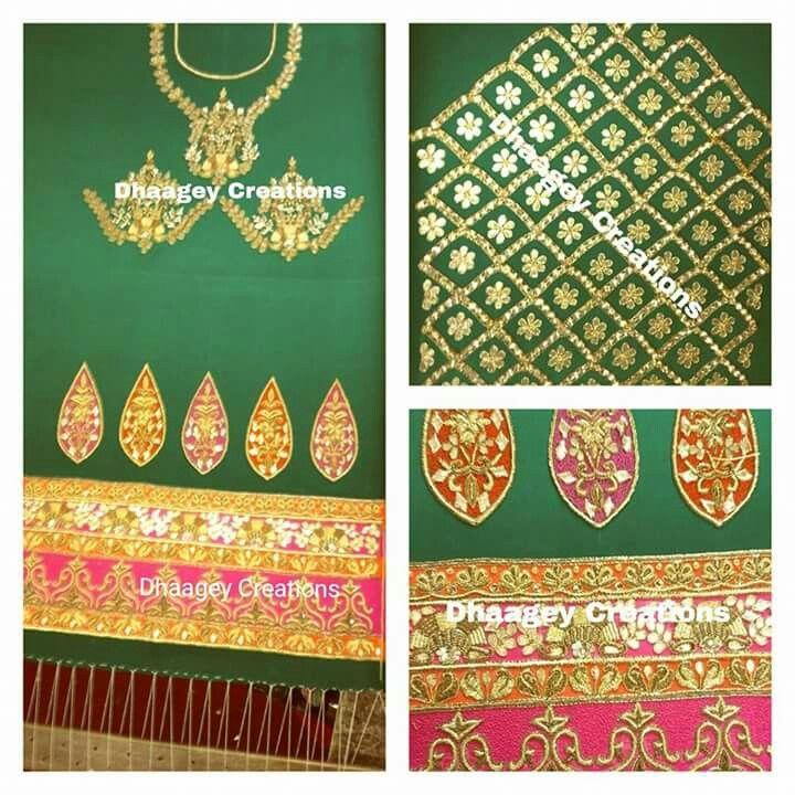 Dhaagey Creations By Nimrat 9915307026 | Designer Suits | Punjabi