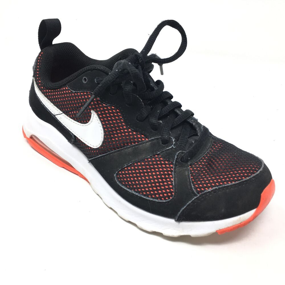 Women s Nike Air Max Muse Running Shoes Sneakers Size 6.5 Black White  Orange Q8 - Nike eae3d1ad1