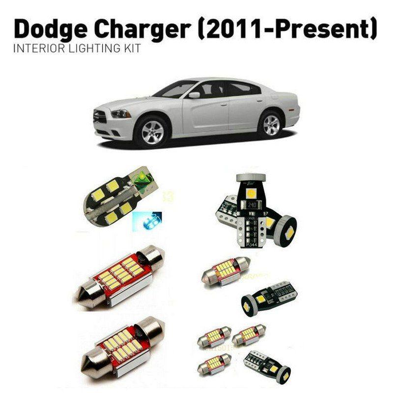 Led Interior Lights For Dodge Charger 2011 13pc Led Lights