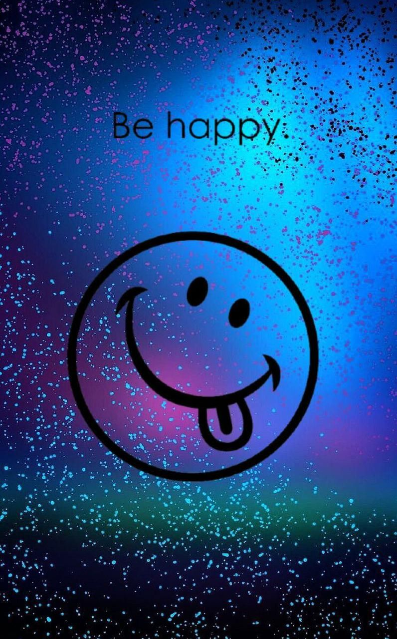 d851782c5d Download Be Happy Wallpaper by prankman93 - f6 - Free on ZEDGE™ now. Browse  millions of popular emoji Wallpapers and Ringtones on Zedge and personalize  your ...