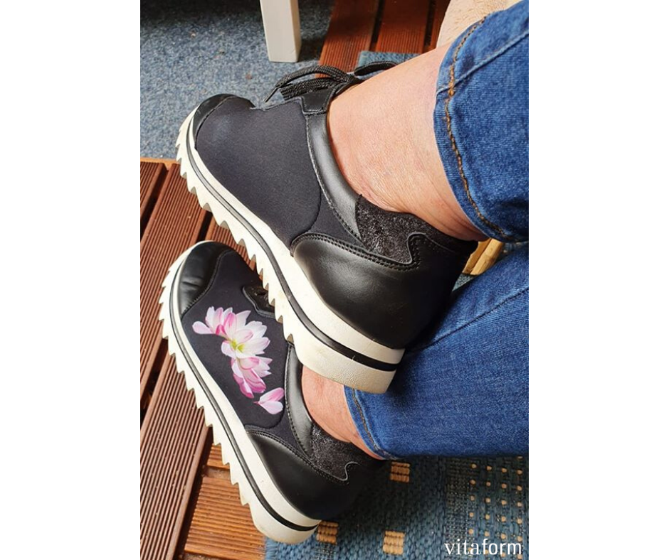 Monika In Unserem Allroundtalent In 2020 Sneaker Hirschleder Vitaform Schuhe