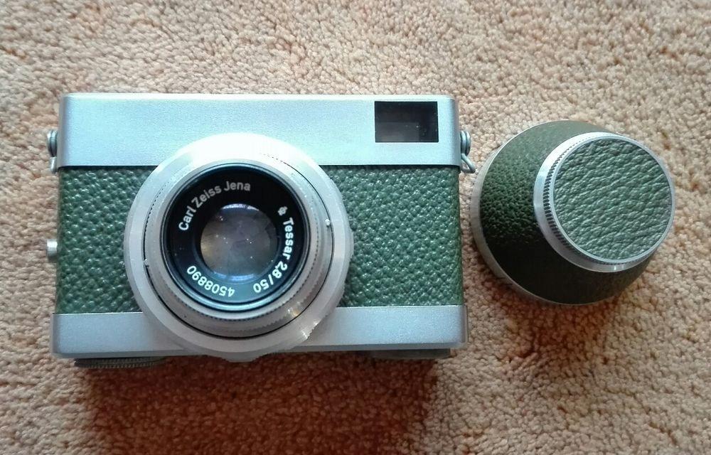 Ddr Fotoapparat Fotokamera Zeiss Werra Jena Tessar 1 2 8 50mm