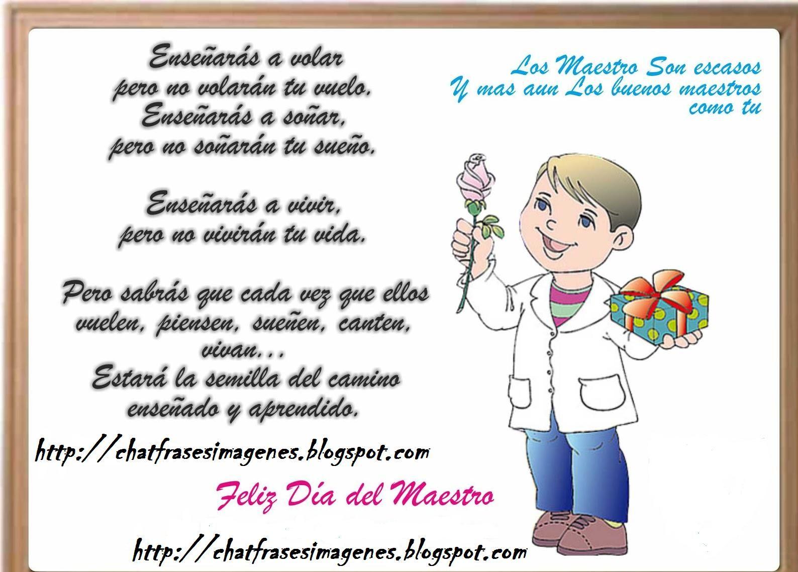 Feliz Dia Maestra Dedicatorias Para Maestros Día De Los