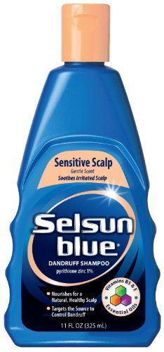 selsun blue sensitive scalp shampoo 11 oz pack of 3 check out