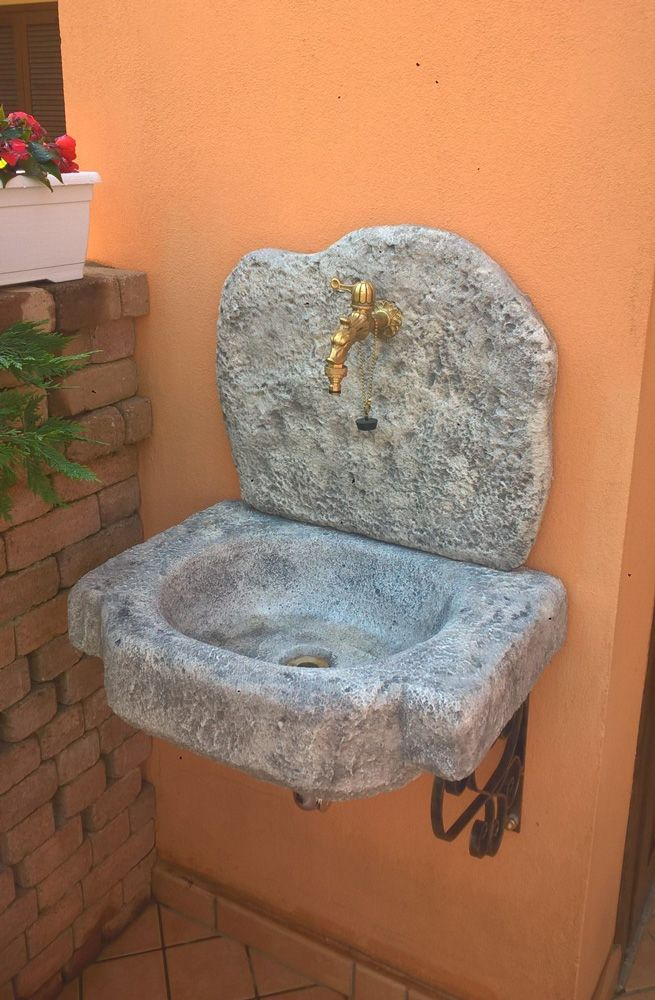 Lavello da giardino Anterselva | Lavello da giardino ...