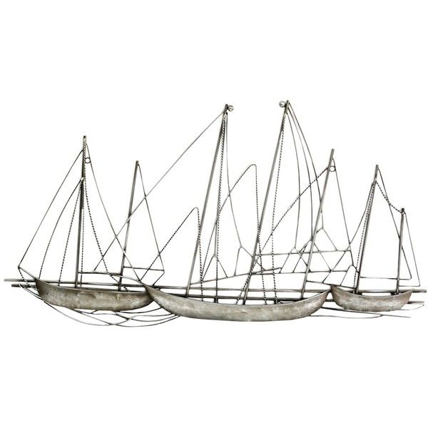 Sailboat wall decor art and accessories pinterest metal also rh