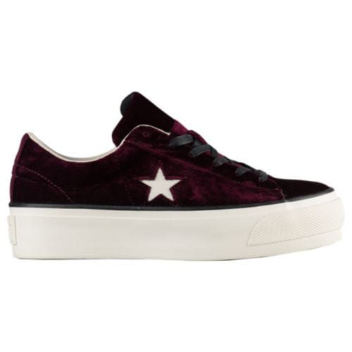 38a6ada5d5d6 Converse One Star Velvet Platform Ox - Women s at SIX 02