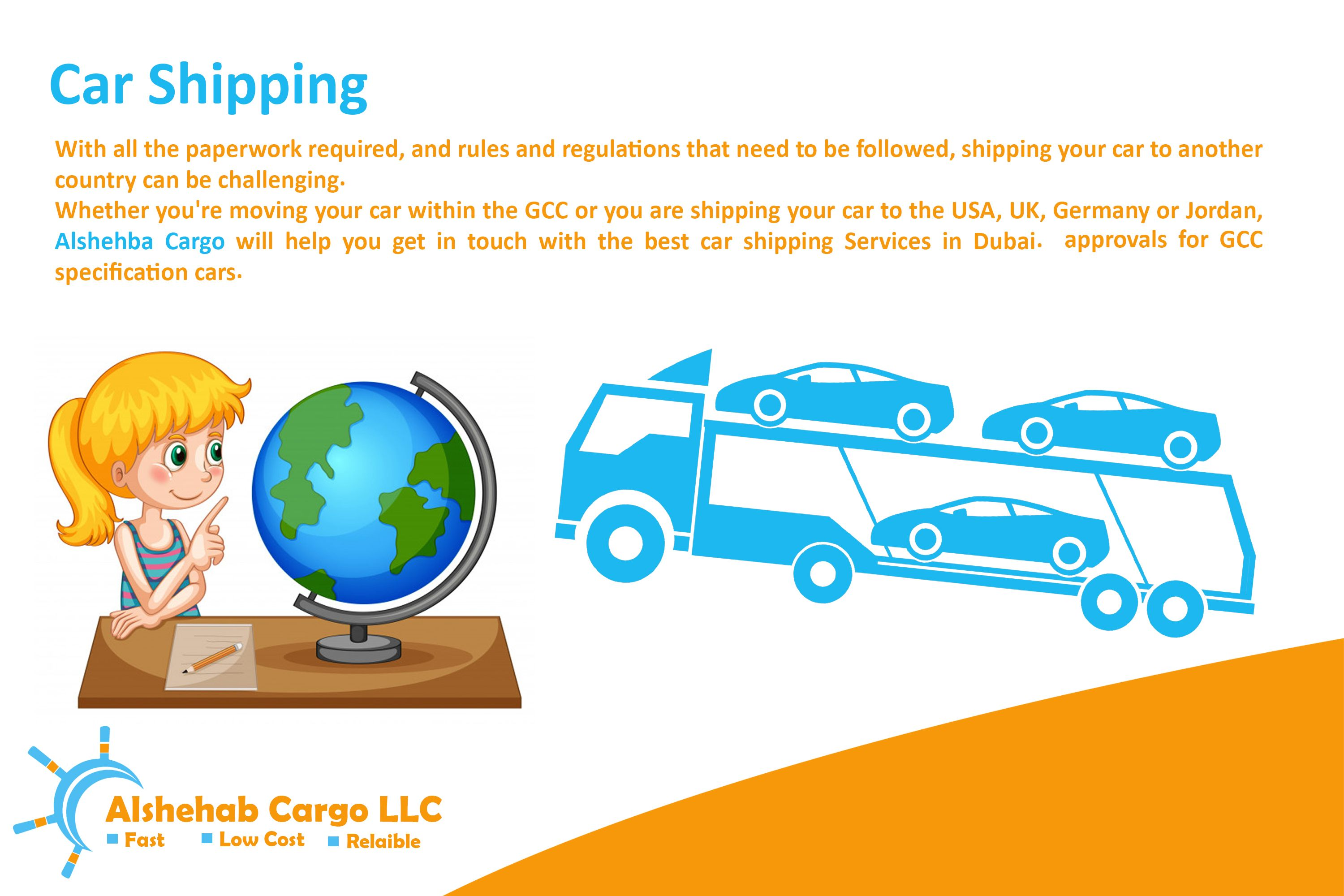 Logistics & Shipping services such as Express Cargo, Air