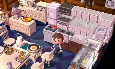 Room inspiration: family kitchen | Animal Crossing ... on Animal Crossing Kitchen Ideas  id=80976